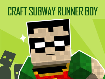 Craft Subway Runner Boy