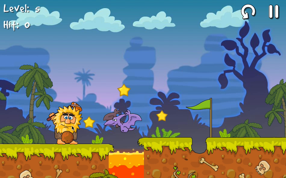 Adam and Eve: Golf Screenshot 1