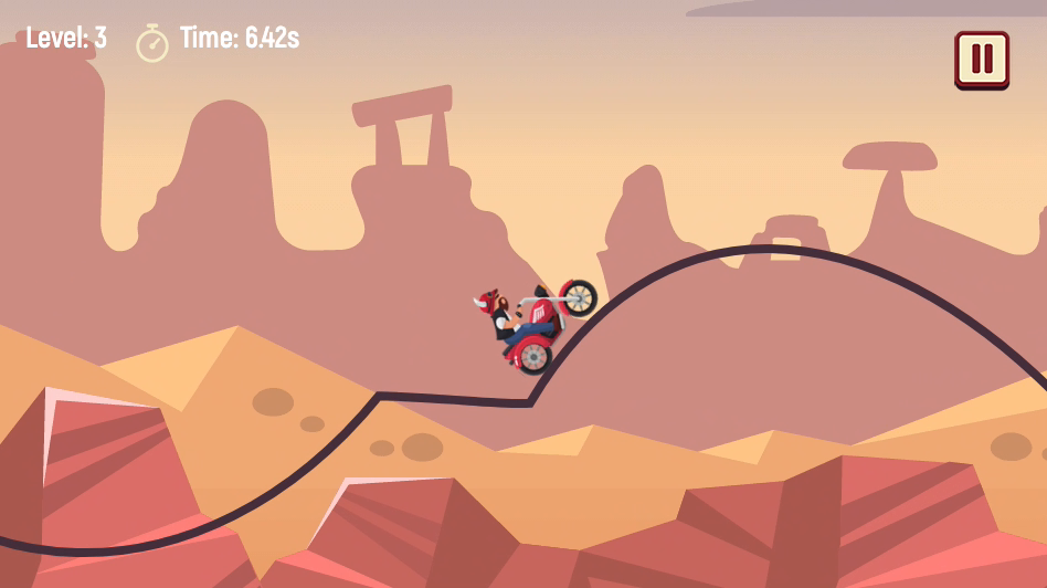 Biker Lane Screenshot 2