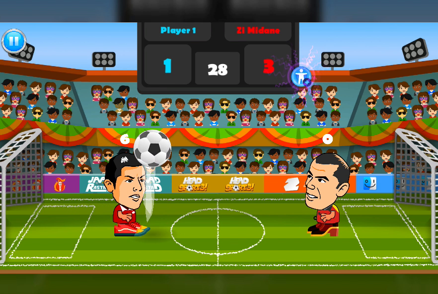 2 Player Head Football Screenshot 3