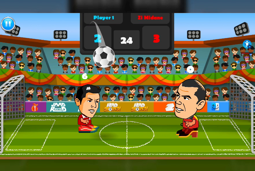 2 Player Head Football Screenshot 4