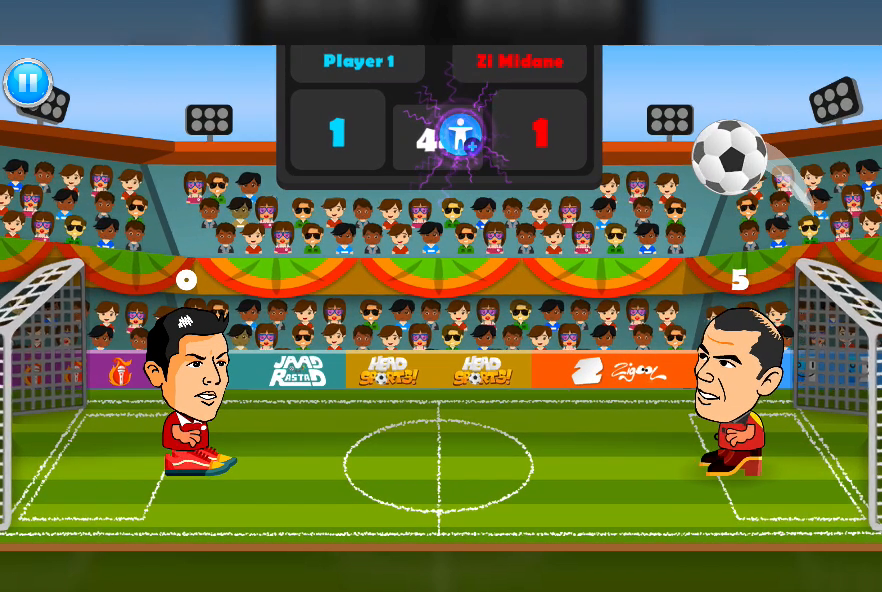 2 Player Head Football Screenshot 5