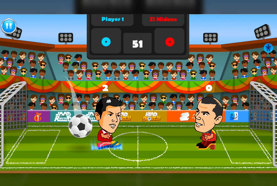 2 Player Head Football Screenshot 6