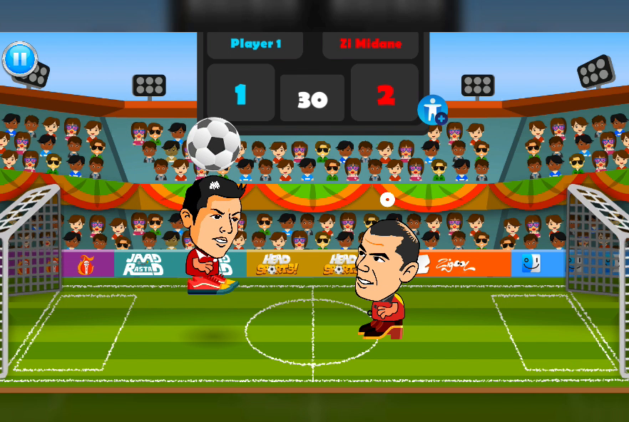 2 Player Head Football Screenshot 7