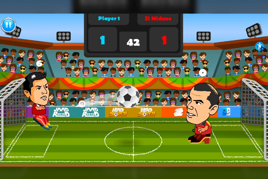 2 Player Head Football Screenshot 1