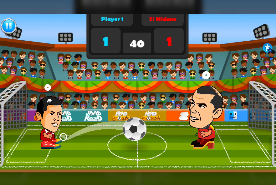2 Player Head Football Screenshot 8