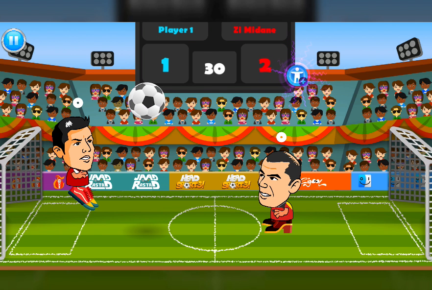 2 Player Head Football Screenshot 9