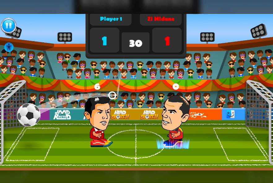 2 Player Head Football Screenshot 10