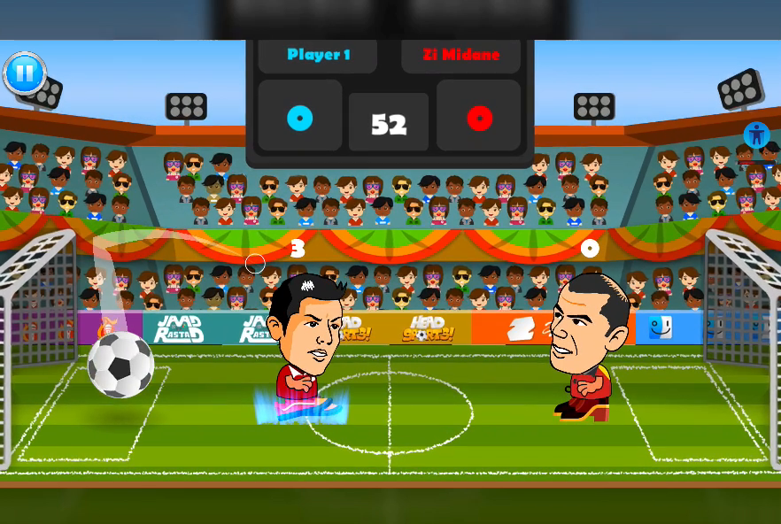 2 Player Head Football Screenshot 11