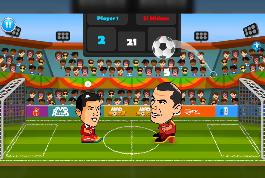 2 Player Head Football Screenshot 12