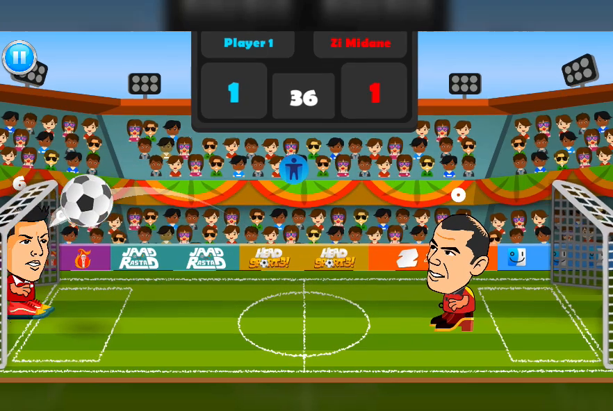 2 Player Head Football Screenshot 13