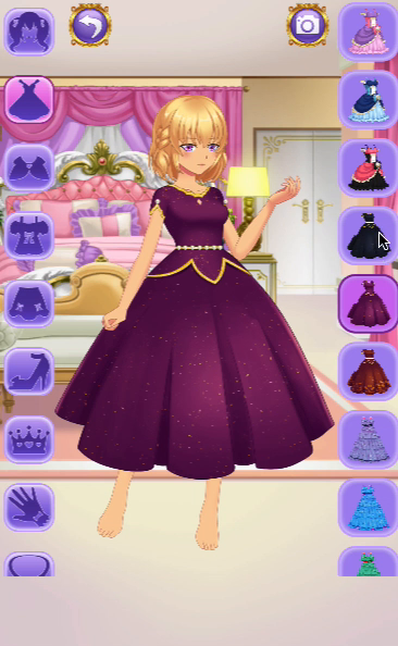 Anime Princess Dress Up Game Screenshot 14