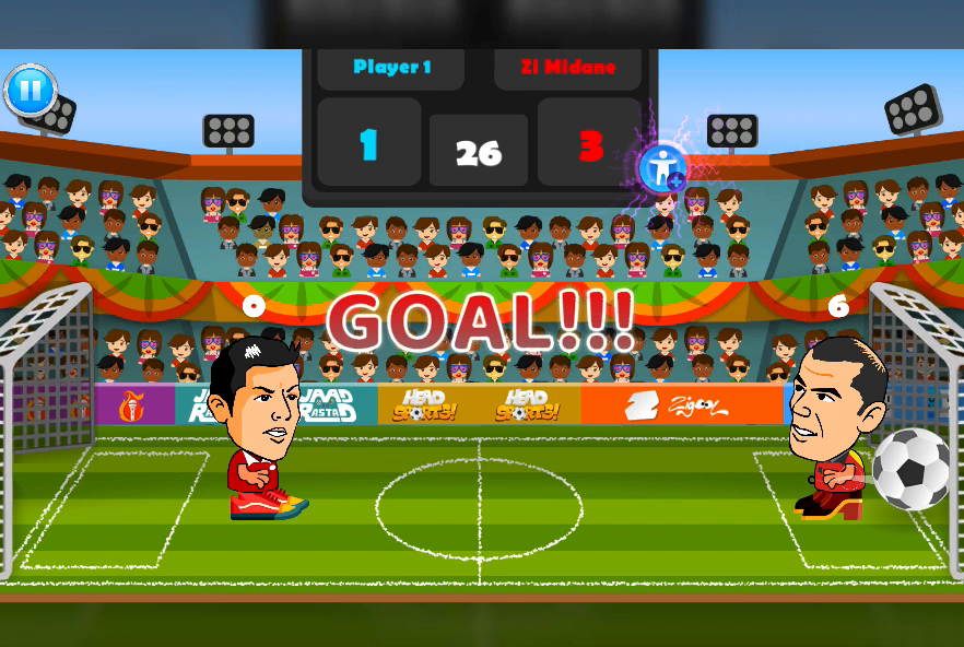 2 Player Head Football Screenshot 14