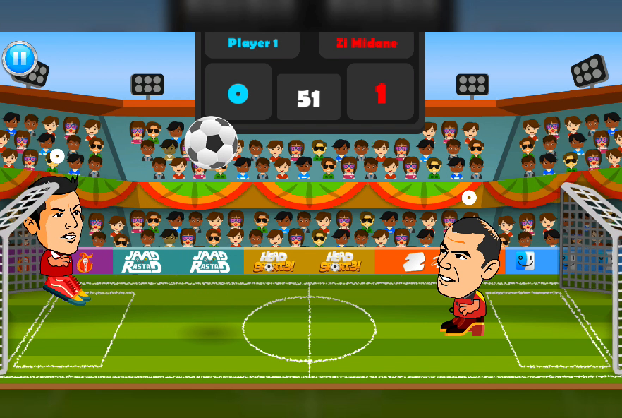 2 Player Head Football Screenshot 15